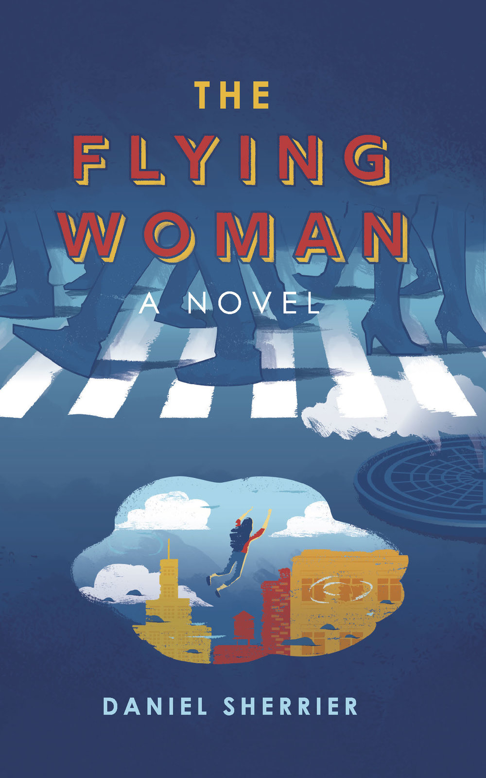 DANIEL SHERRIER   The Flying Woman,  a novel  Available now in  paperback ,  Kindle ,  iBooks , and  Nook .    Developmental & Line-by-line Editing Cover & Interior Book Design Print & eBook Publishing