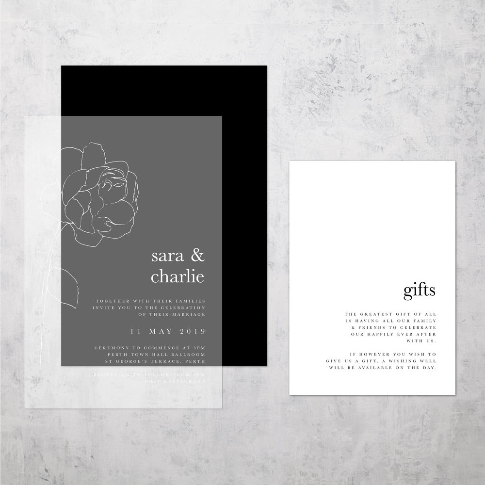 DESIGN SARA & CHARLIE