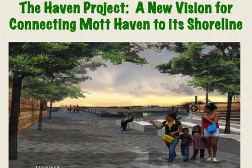 From NY Restoration Project's community planning and engagement initiative in the Port Morris and Mott Haven sections of The Bronx.