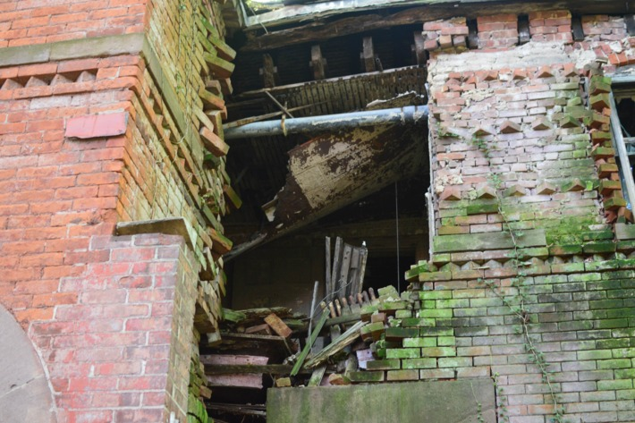 North Brother Island, also called Riverside Hospital, quarantined patients with everything from measles to yellow fever to tuberculosis. It was originally run by the Sisters of Charity.Photo: Jen Kirby/New York Magazine