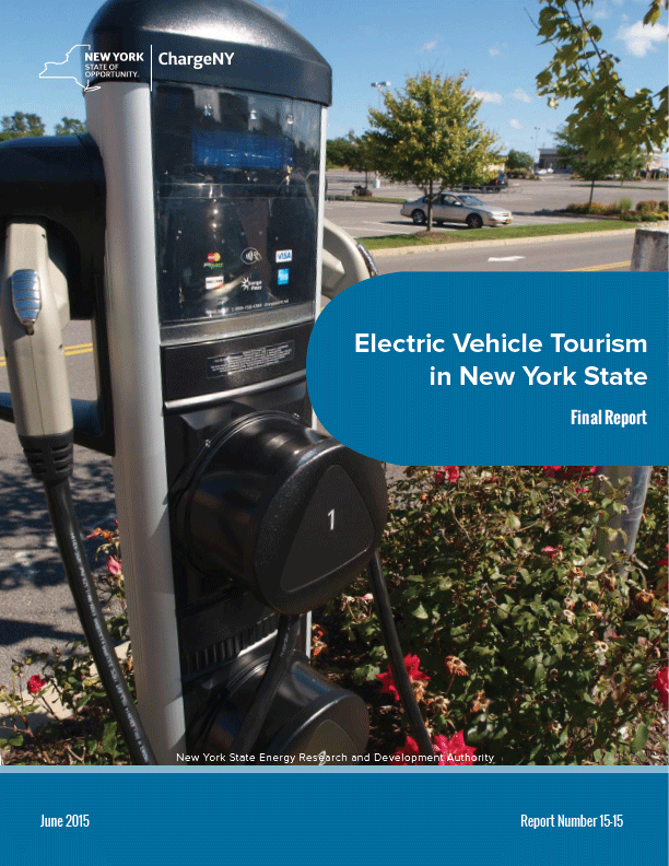 Electric Vehicle Tourism in New York State (pdf)