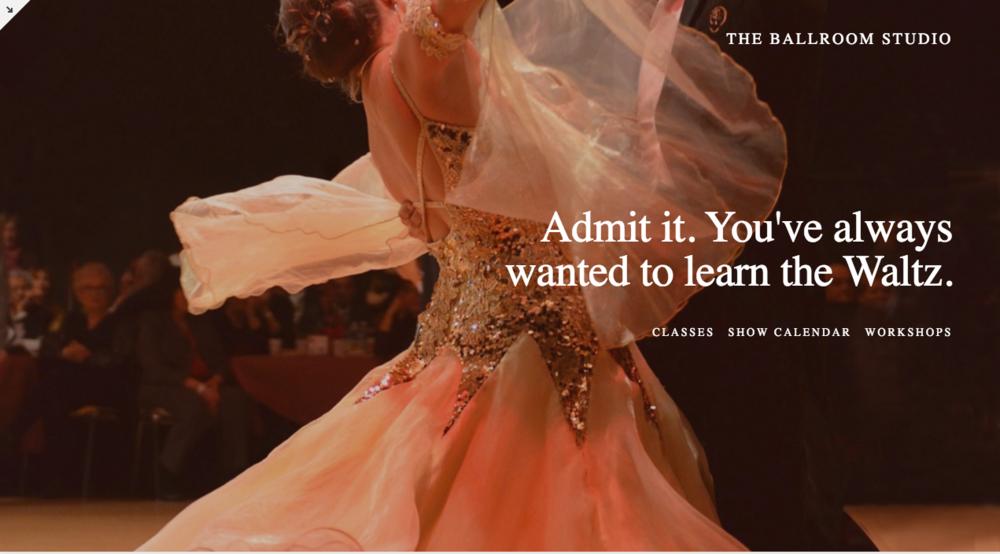 Dance Studio Website