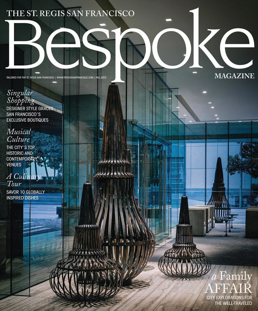 Exclusive Enclaves, Bespoke Magazine, Fall 2013, pp. 42., United States