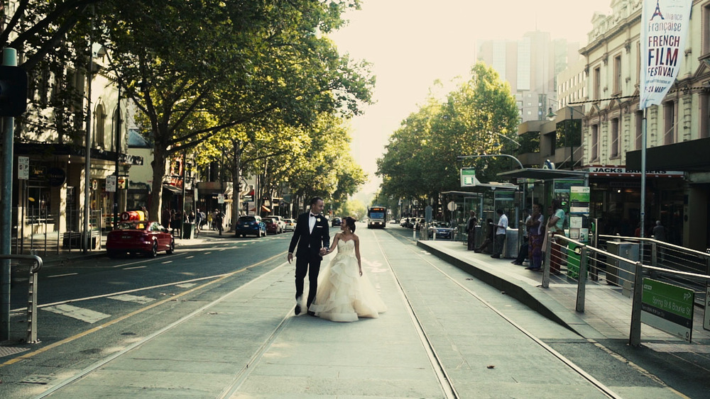 daniel and daniella wedding videography melbourne