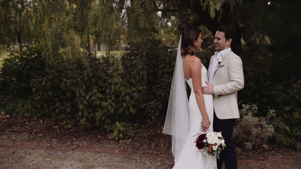 mark and heidi wedding  videography melbourne