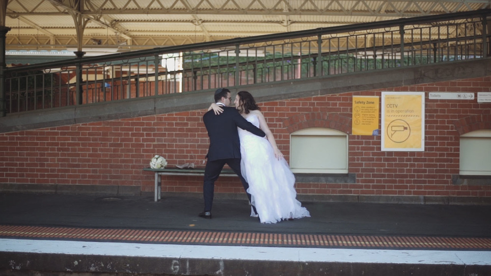 daniel and jess wedding videography melbourne