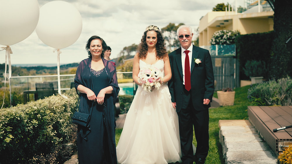 brendan and vida wedding videography melbourne