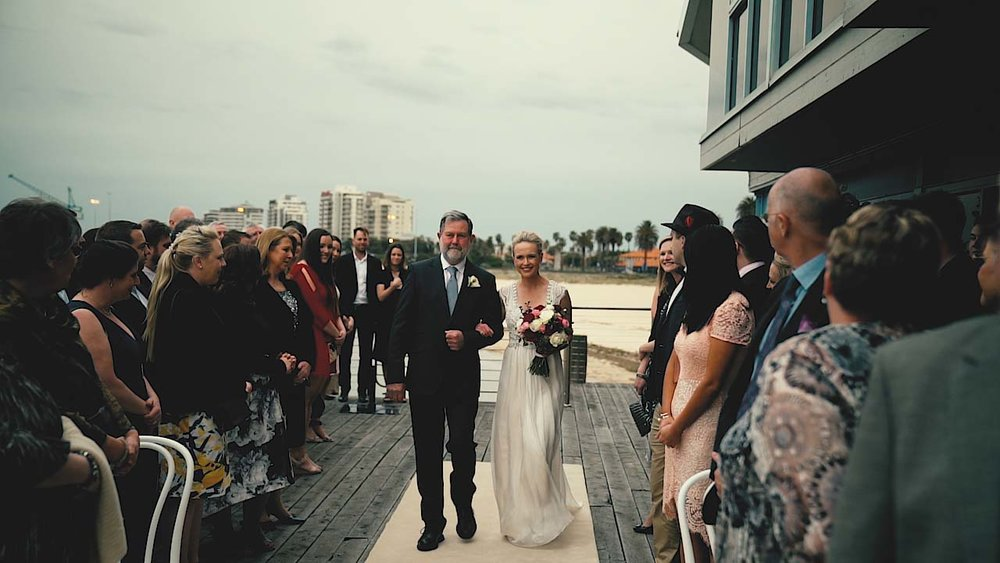 dan and lisa wedding videography melbourne