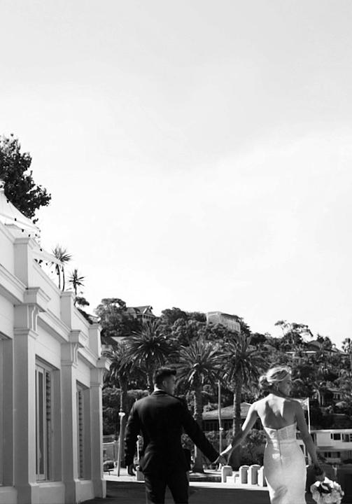 daniel + elizabeth wedding videography sydney