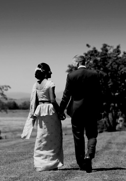 chris + nuresha wedding videography yarra valley