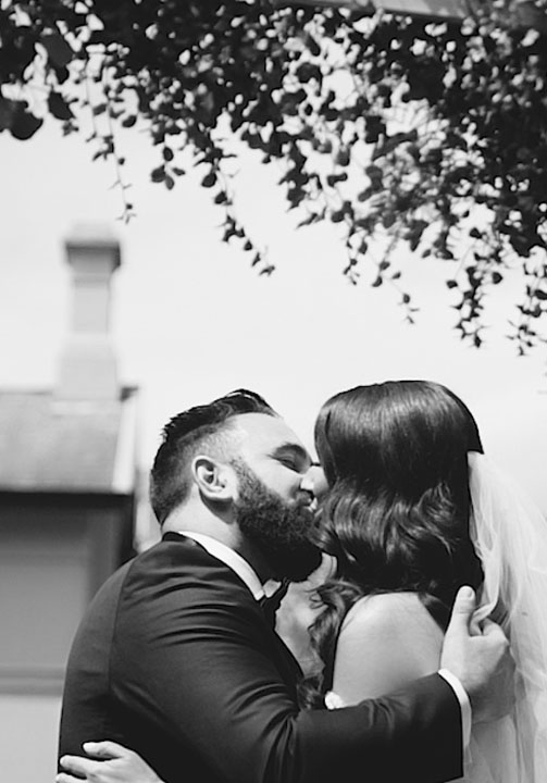 alex and tash wedding videography melbourne