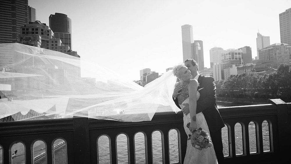 claude and bridgett wedding videography melbourne