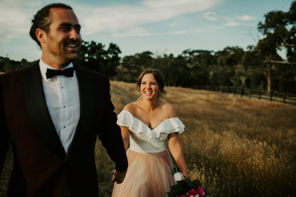 Perspective Melbourne wedding photographer