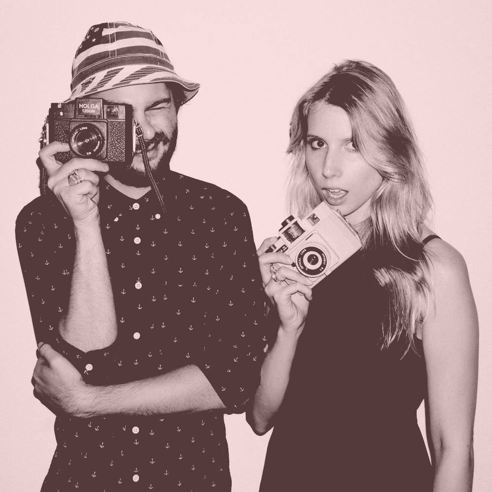 Tom Blachford (Midnight Modern) and Kate Ballis