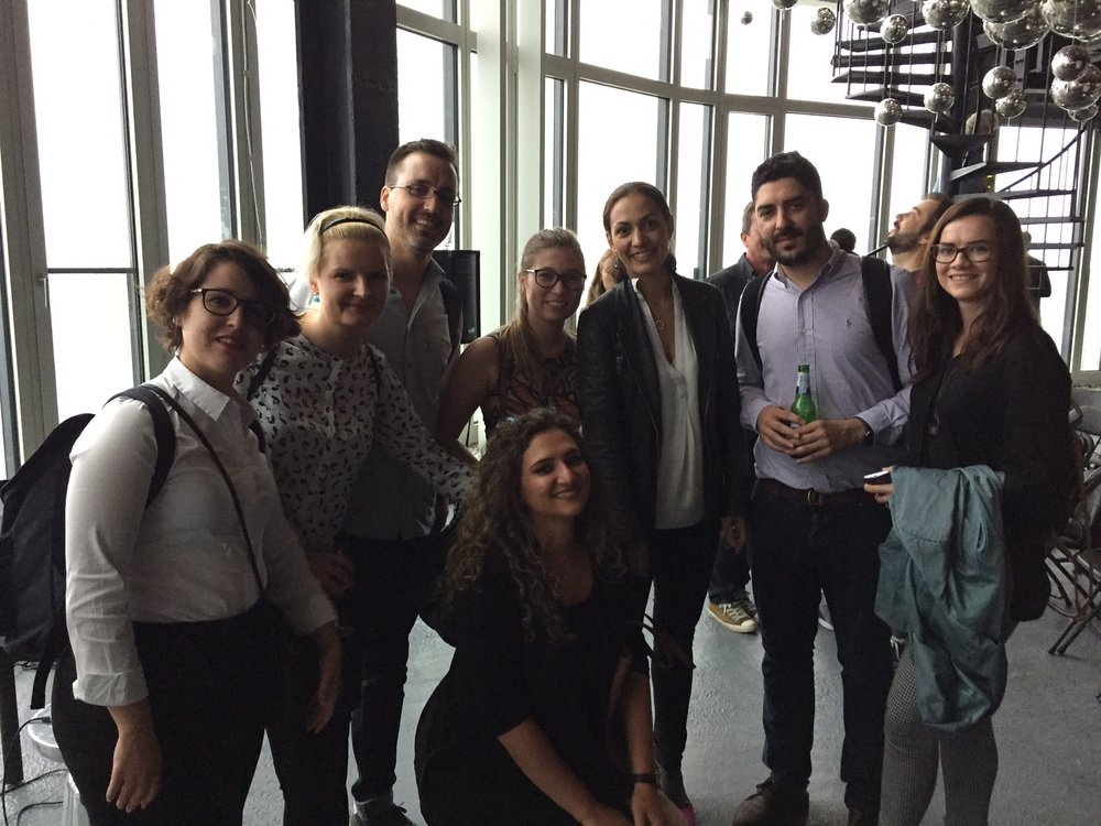 Creators with Sheela Sogard at the Penthouse of South Bank Tower