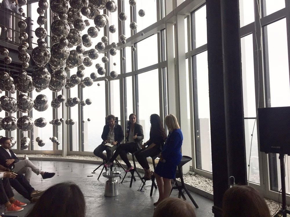 Panel discussion led by  Marcus Fairs , Founder of Dezeen