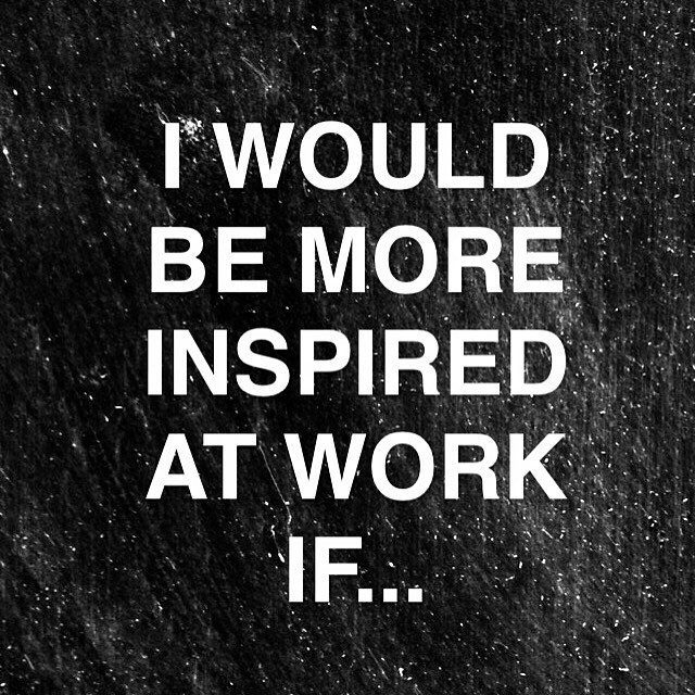 What would inspire you more at #work? Come and tell us! ✨✌🏼️ #wiredtobeinspired #habitare #muotsikka #lamk