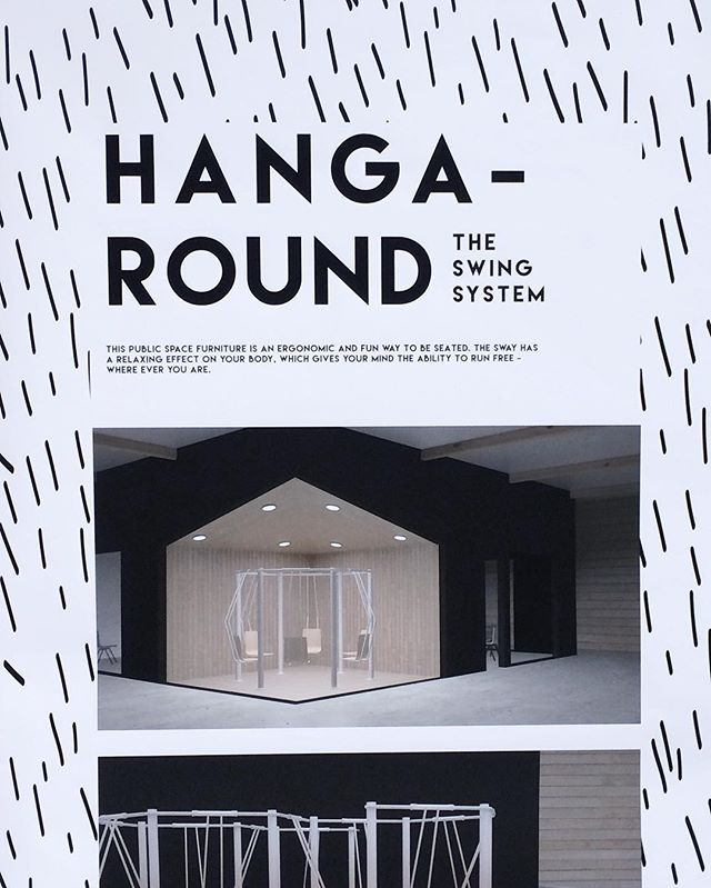 You can find Kaisa Jänttis design #Hangaround from #Habitare furniture fair. At our stand #wiredtobeinspired we open the consept for you and at #Isku fair stand you can have a swing in it! ✌🏼️#muotsikka #lamk #KaisaJäntti