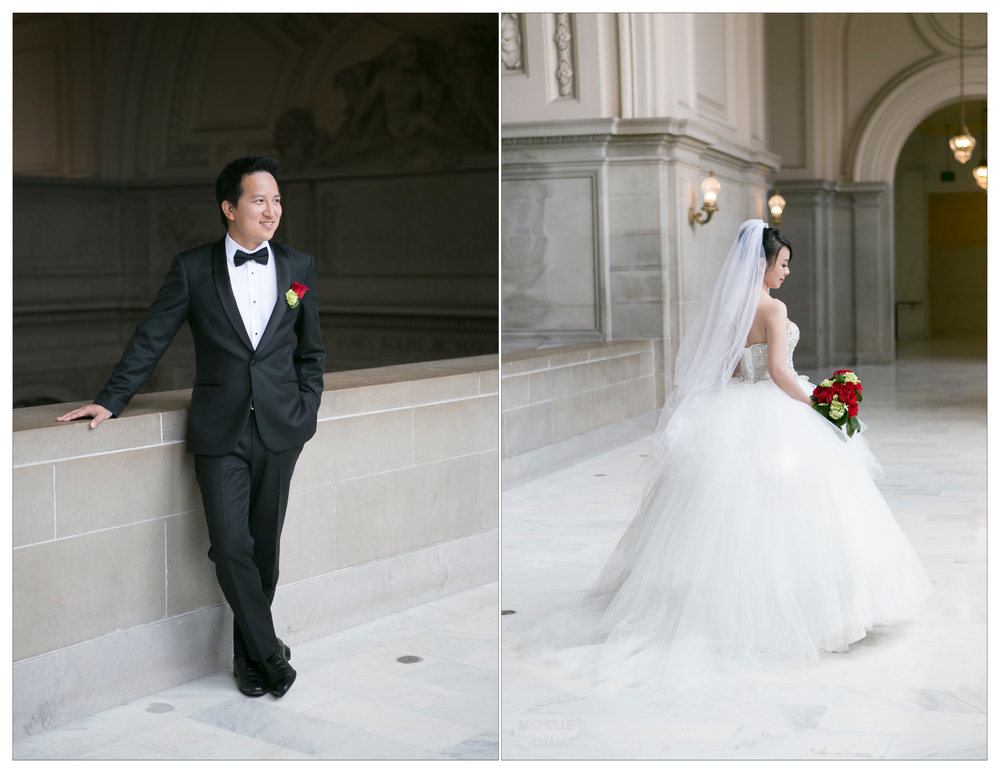 Michelle Chang Photography - San Francisco City Hall Wedding
