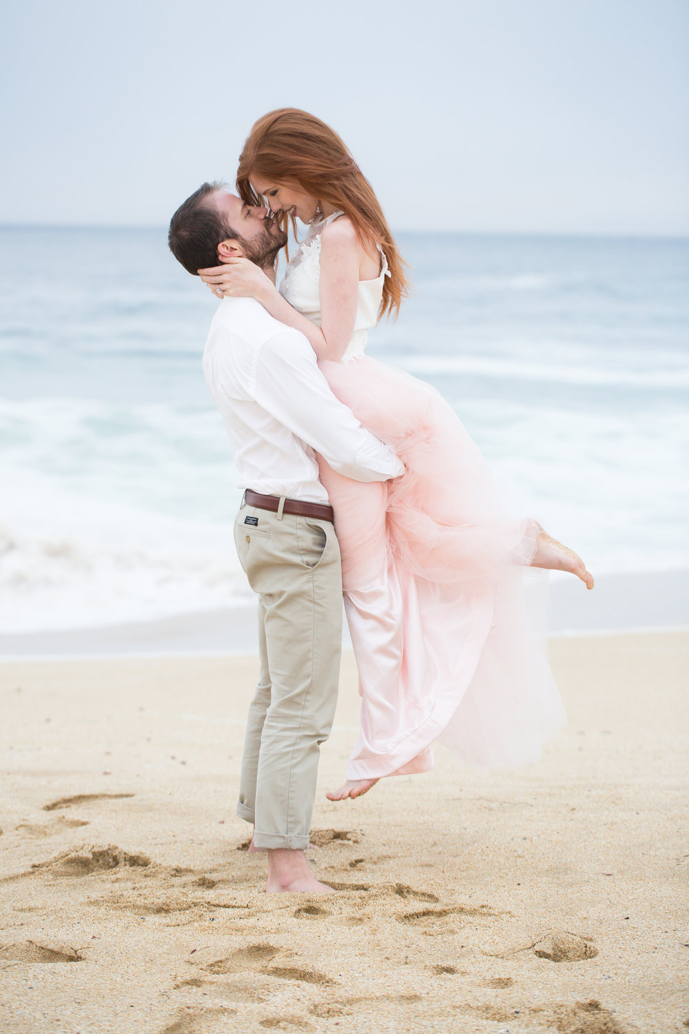 Michelle Chang Photography-Half Moon Bay Engagement Photos