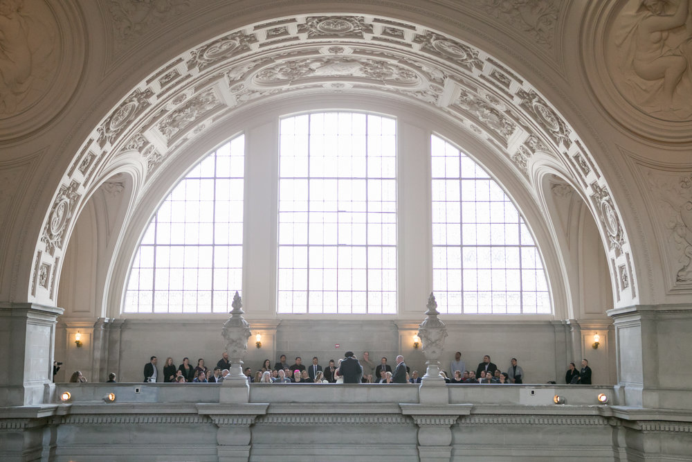 Beautiful San Francisco City Hall Wedding - Michelle Chang Photography