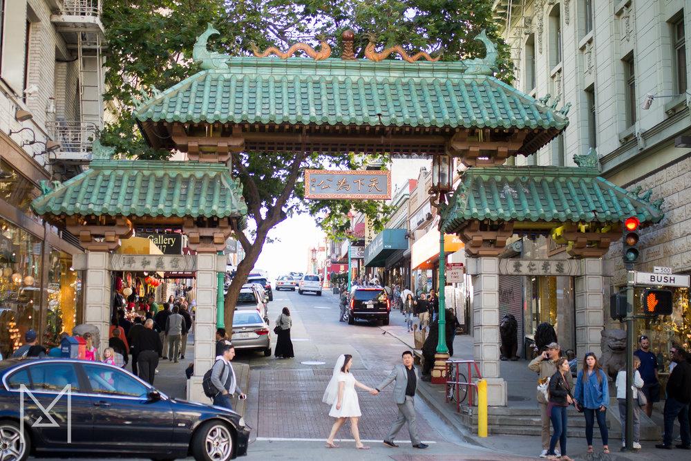 San Francisco Engagement Photos - Michelle Chang Photograph