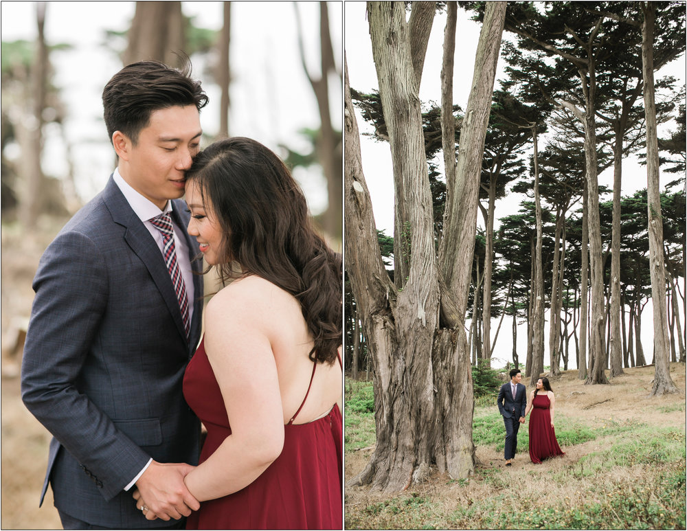 San Francisco Engagement Photos - Michelle Chang Photography