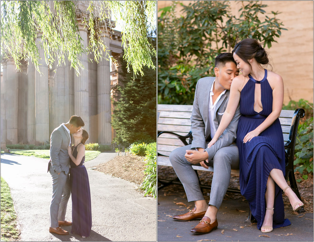 San Francisco Engagement Session 舊金山美式婚紗 - Michelle Chang Photography
