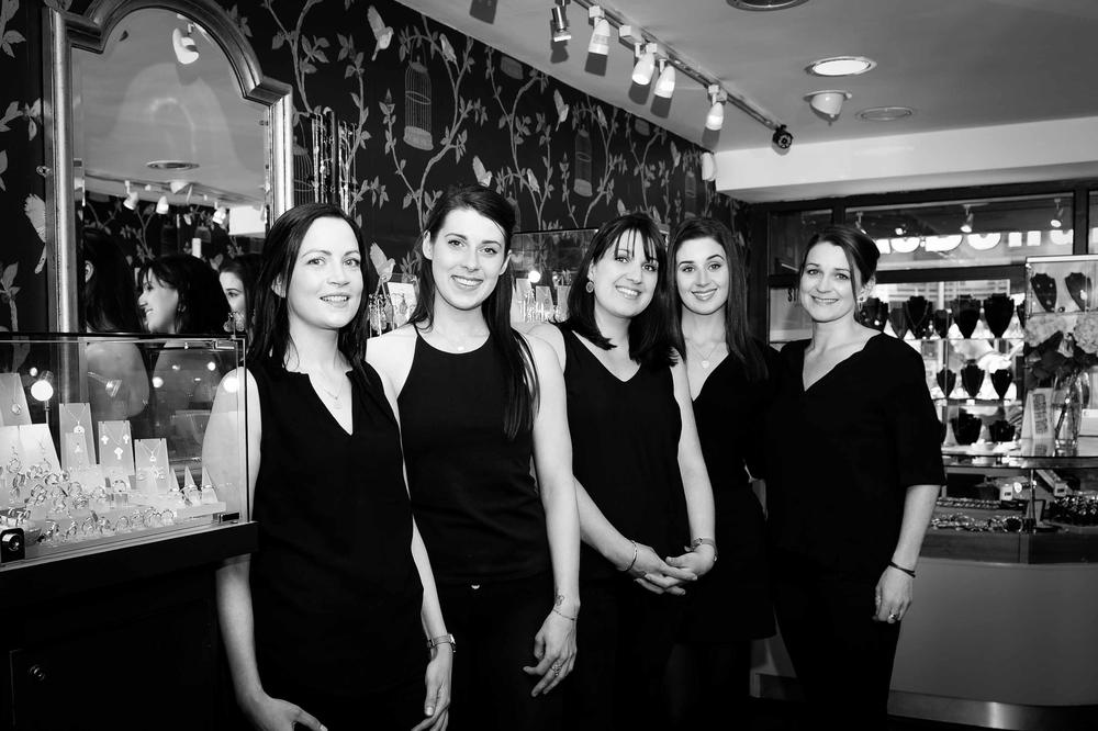 The McCarthy Sisters & the lovely Sarah Jordan