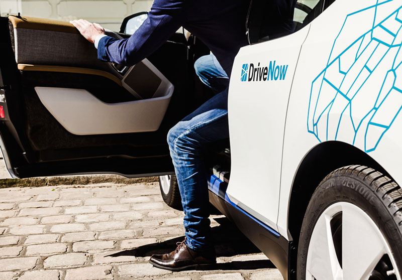 Some car clubs have allocated parking bays; some just let you drop the car anywhere. Photo: DriveNow
