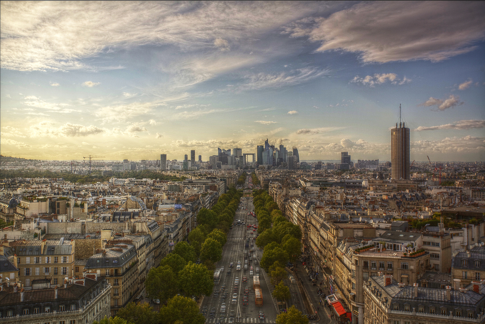 Paris's commercial rooftops have to be green or solar powered. Photo Joe Price