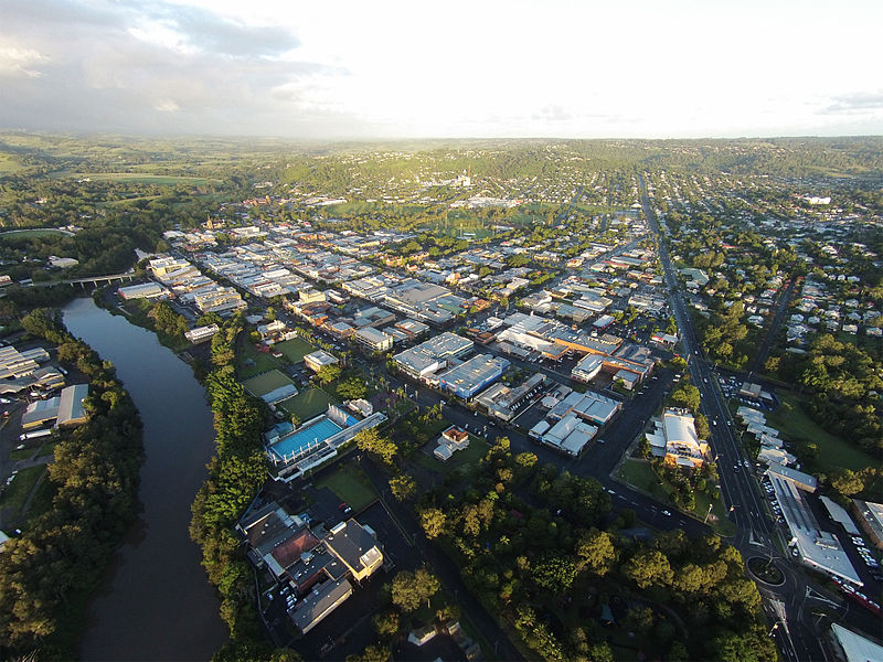 Lismore, Australia. Photo: Kingyj  Creative Commons