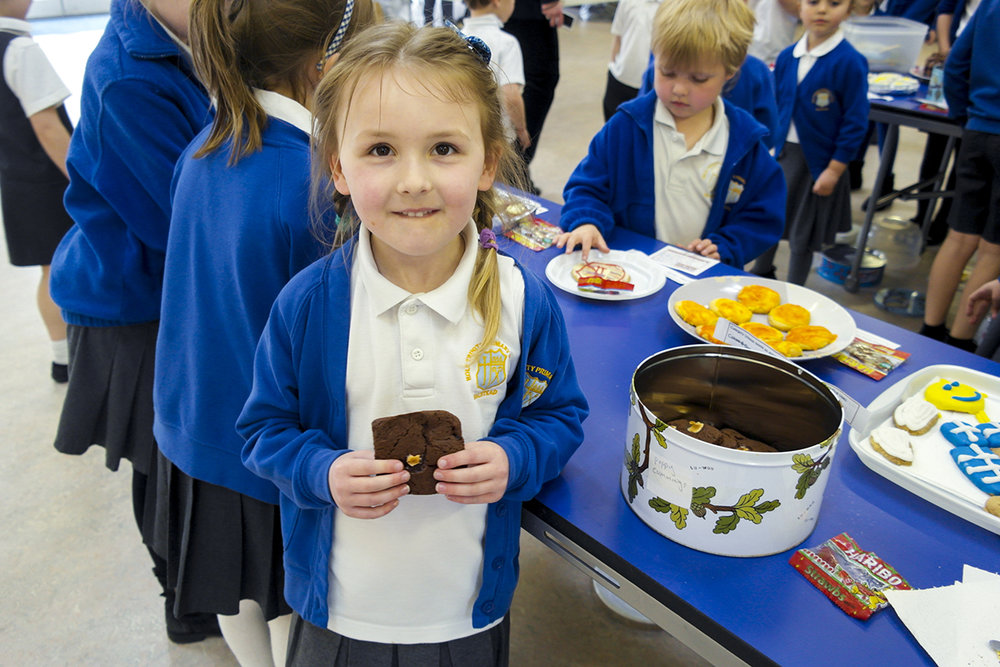 Holy Trinity primary, Essex, raised £10,000 for their solar panels in 2015-16.