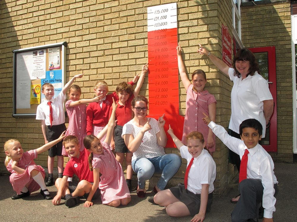 Little Kingshill combined school, Bucks, raised £15,000 for their panels in 2011-12.