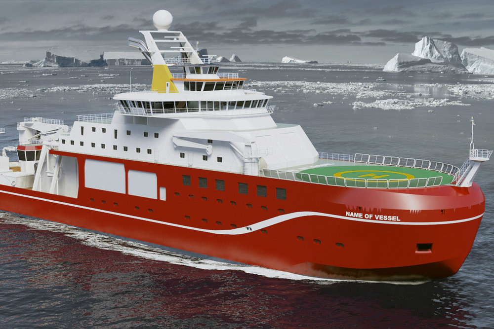 Photo: Cammell Laird and British Antarctic Survey