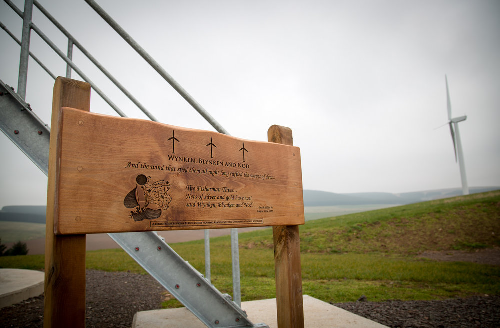 Photo: Berwickshire community renewables
