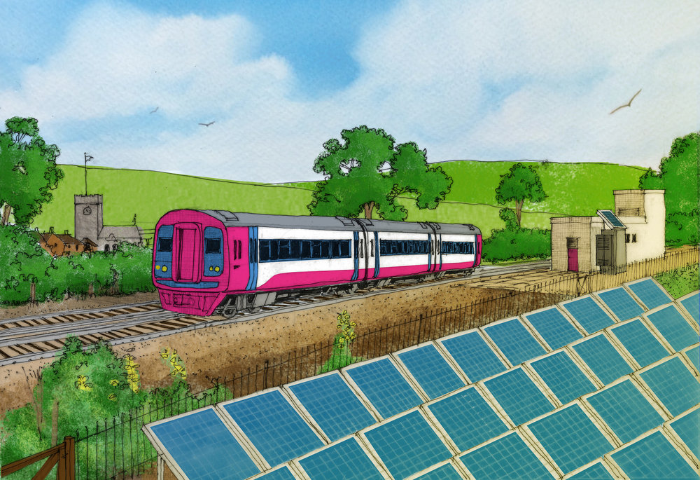 PV train illustration