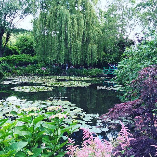 A beautiful afternoon in Giverny