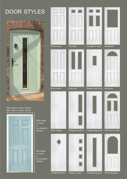 PVC Composite doors — Frame Force