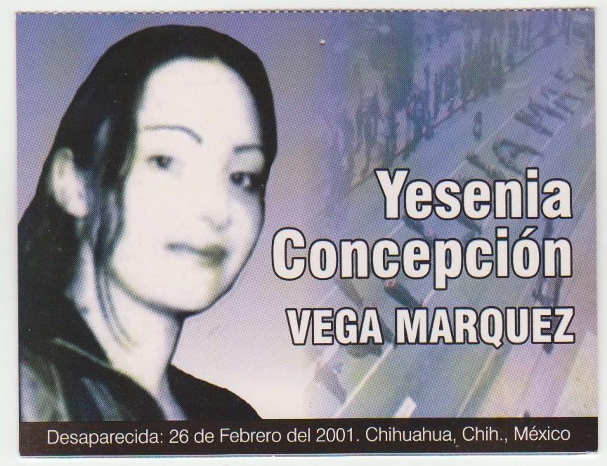 Yesenia postcard