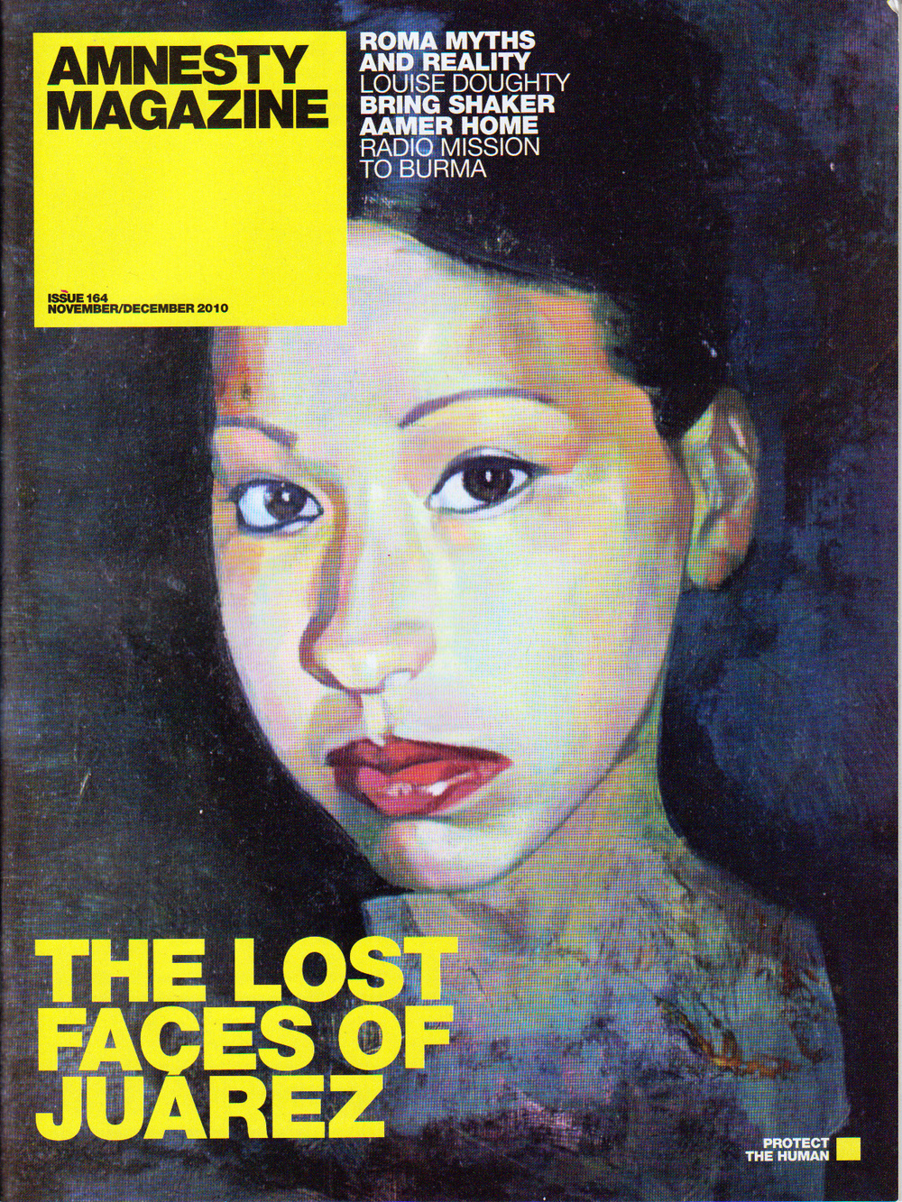 Amnesty Magazine interview 2010