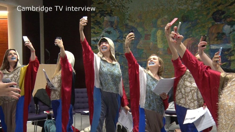 Cambridge TV interview Twitter Chorus 2015