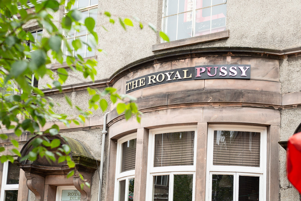 'The Royal Pussy' - curatorial intervention