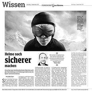 Kleine Zeitung Kärnten / Wissen - 2017 September