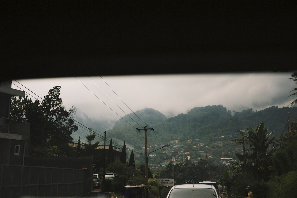 The Puncak Jakarta indonesia clouds tea plantations