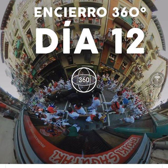 Todo San Fermín en 360° en nuestra página de Facebook  #360 #sf2017 #sanfermin #littleplanet #vrvideo