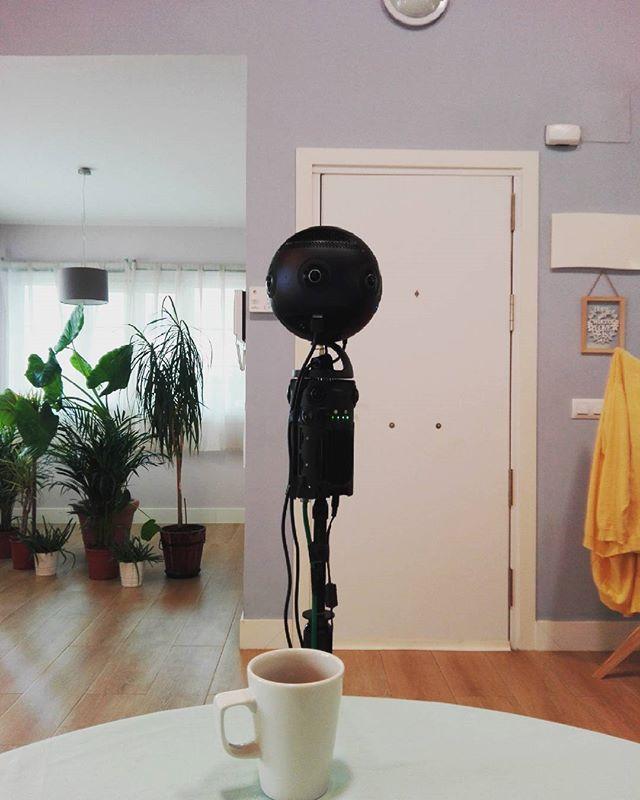 Silencio, se rueda!  #rodaje #zcam #insta360pro #360 #video360