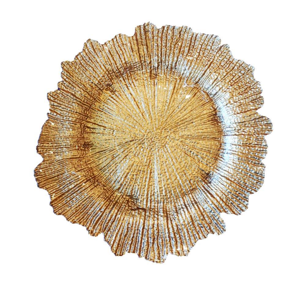 Gold Glass Flora