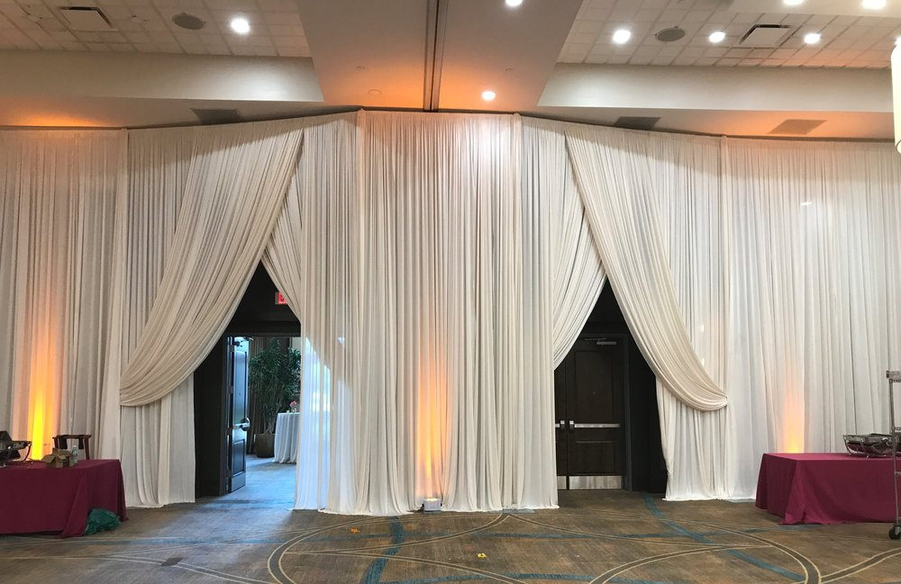 Double Entrance Elegant Drape.JPG