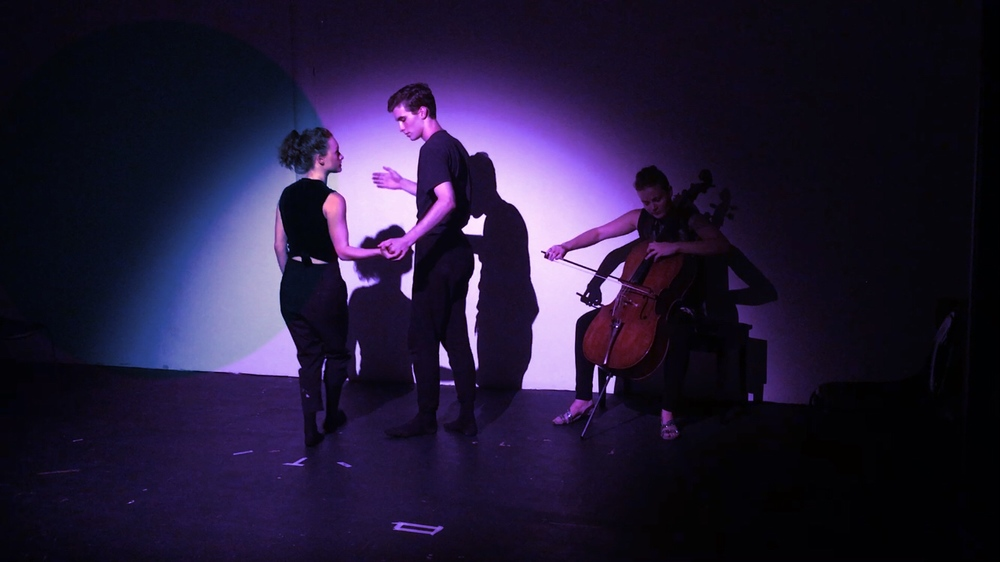 Ashley Robicheaux (dance), Mitchell Christie (dance), Jillian Blythe (cello)
